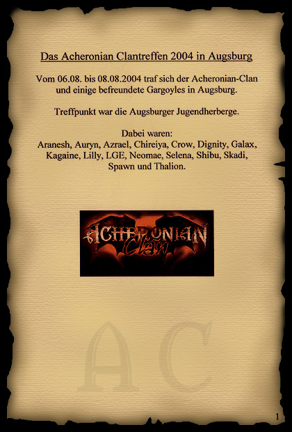 Der Acheronian-Clan