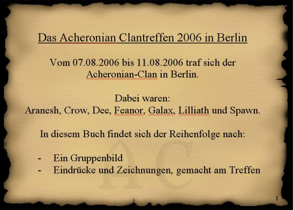 Der Acheronian-Clan